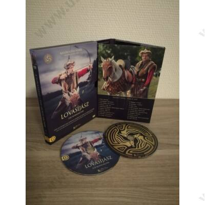 A lovasíjász Díszdobozos DVD+CD (film+filmzene)