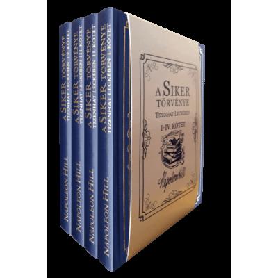 A siker törvénye tizenhat leckében (I.-IV. kötet)