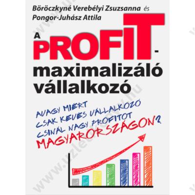 A profitmaximalizáló vállalkozó hangoskönyv