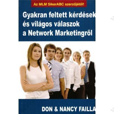 Gyakran feltett kérdések és világos válaszok a Network Marketingről - szépséghibás