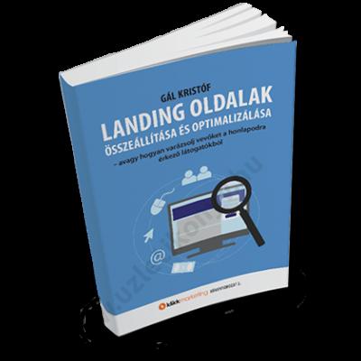 Landing oldalak összeállítása és optimalizálása