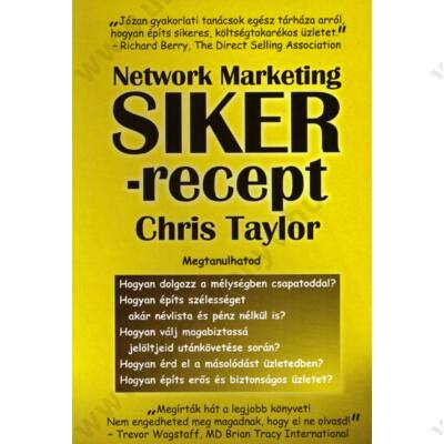 Network Marketing Sikerrecept